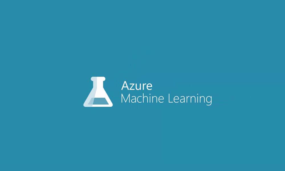 Nuovi Moduli In Azure Machine Learning 00